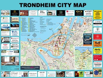 trondheim city map